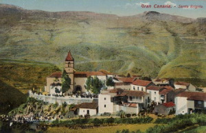 Leiebil Santa Brigida Gran Canaria