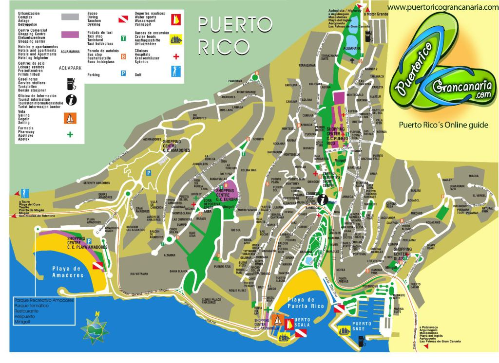 puerto rico spania kart Kart over Puerto Rico Gran Canaria puerto rico spania kart