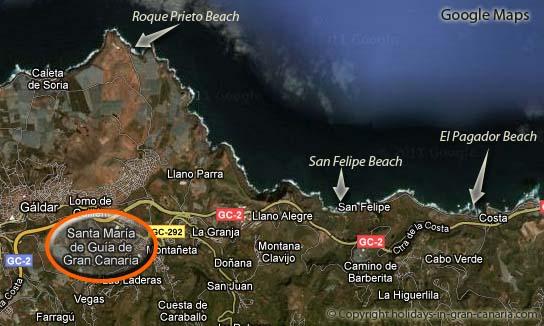 Kart Santa Maria de Guia Gran Canaria