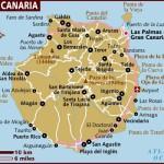 Kart over Gran Canaria