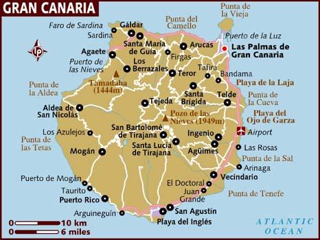 Kart Gran Canaria