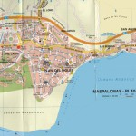Kart over Maspalomas Gran Canaria