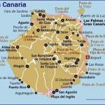 Kart over Playa del Inglés Gran Canaria