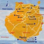 Kart over Sonnenland Gran Canaria