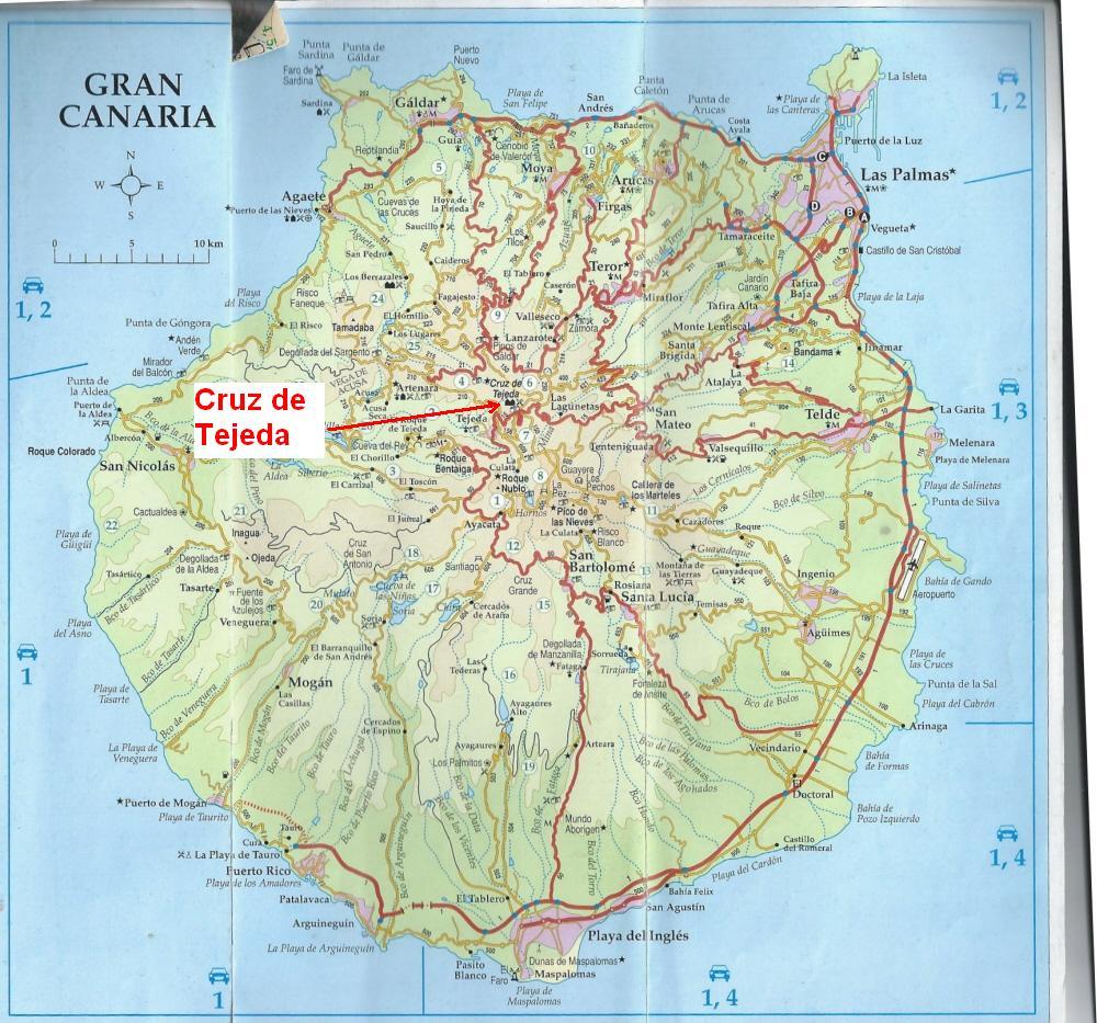 Kart Tejeda Gran Canaria