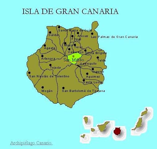 Kart Vega de San-Mateo Gran-Canaria