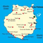 Kart over Telde Gran Canaria